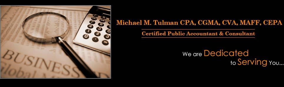 Our Services | Michael M. Tulman CPA, CPA Cape Cod MA, Accountant ...